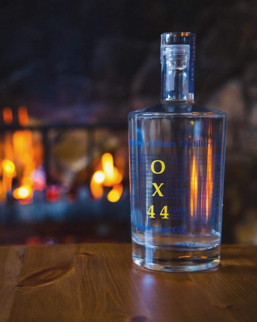 Bottle of OX44 Gin